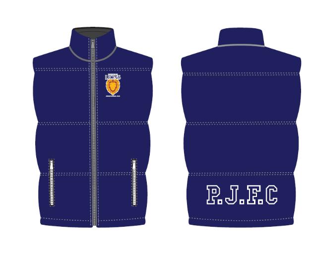 Puffa Vest – $50
