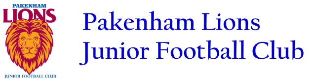 Pakenham Junior Football Club Logo